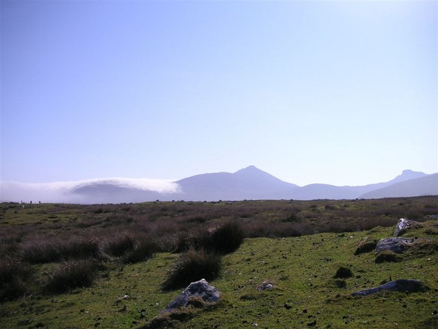 Open moorland towards Coire Dubh, South Uist