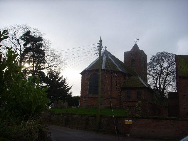St. Catherine's Church, Eyton upon the Weald Moors