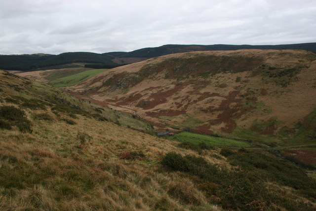 Valley of  the Afon Pemprys