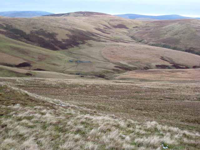 Foul Sike and the Otterburn Ranges