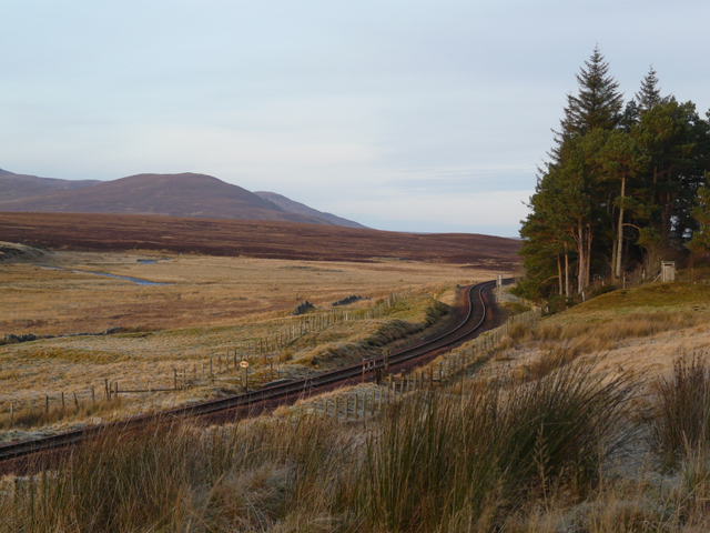 The line at Kinbrace