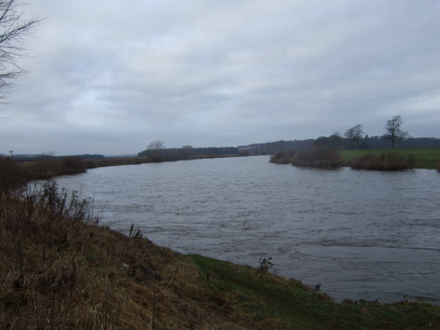 Upstream River Tweed