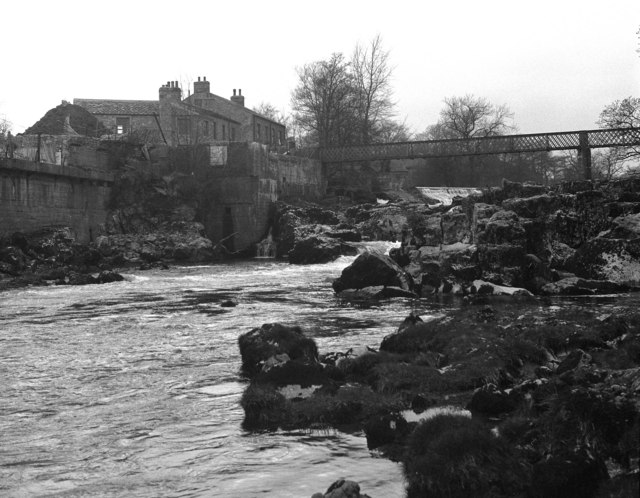 Linton Falls and the Tin Bridge