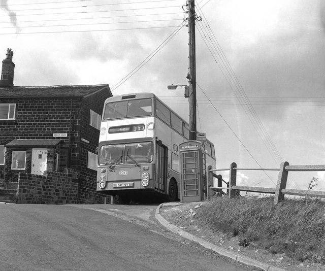 Steep Lane bus terminus, Yorkshire