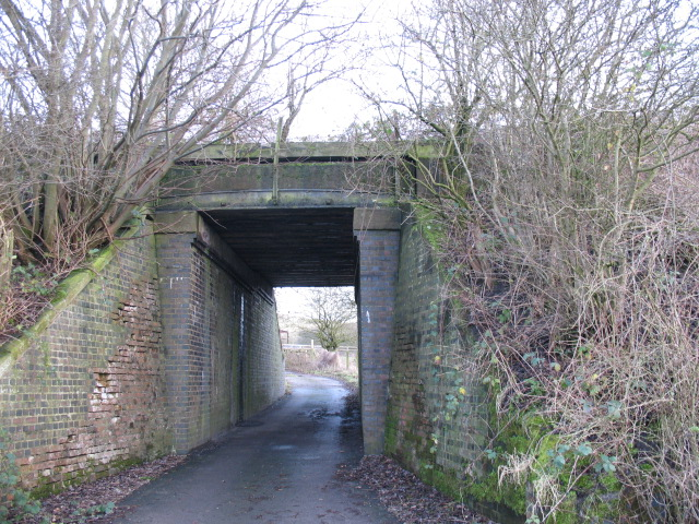 Bridge under disused railway, Diglake