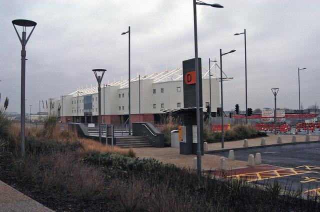 Blackpool football stand