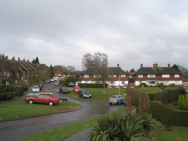 Looking towards Peperham Road
