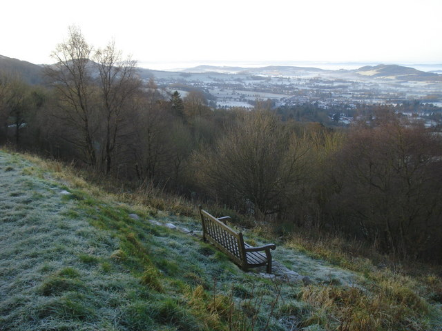 Seat on the Worcestershire Beacon path - 1