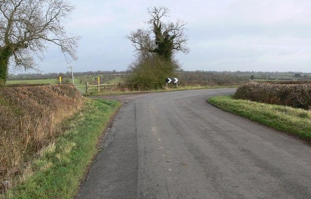 Road to Bruntingthorpe