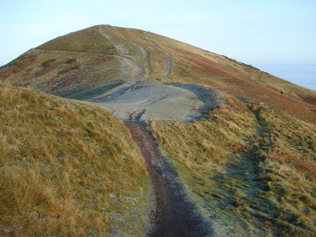 Saddle south of the Worcestershire Beacon