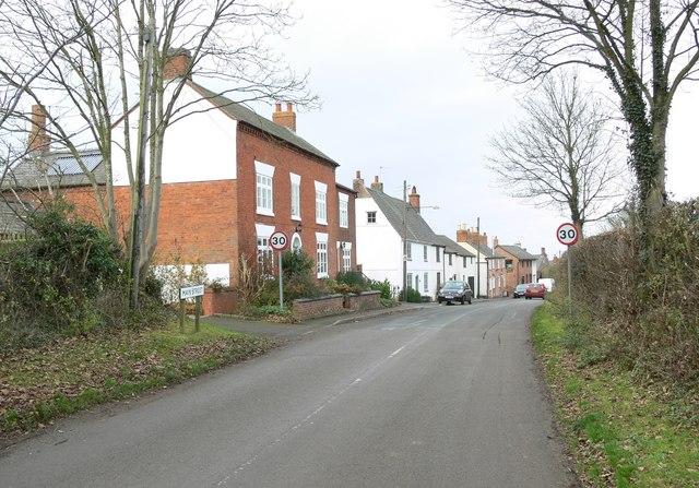 The Main Street of Bruntingthorpe