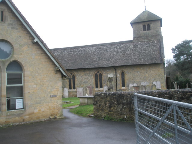 Rear view of St Bartholomew's