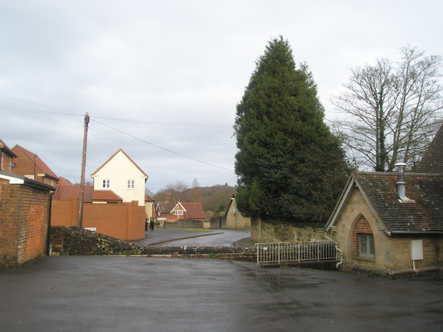Looking from Church towards Kilnfields