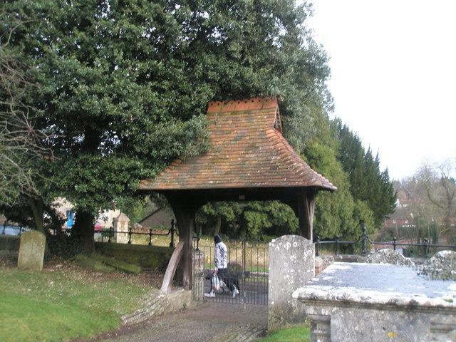Entrance to St Bartholomew's, Haslemere
