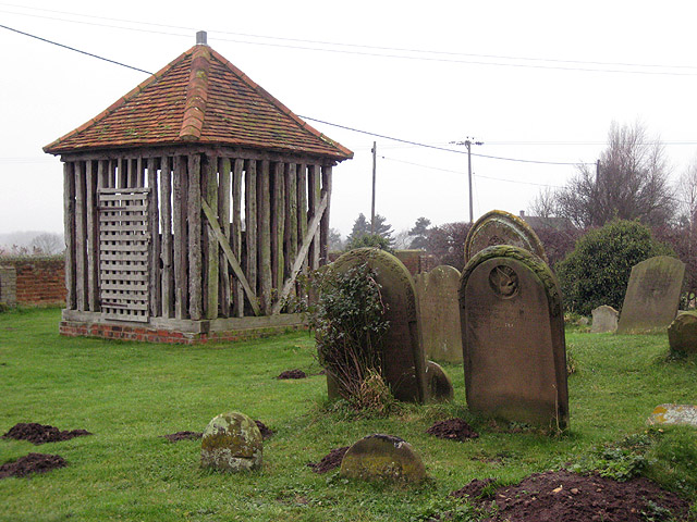 Bell-cage for single bell, Wrabness church
