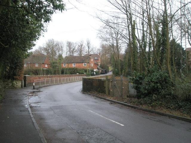 Railway bridge in Church Lane