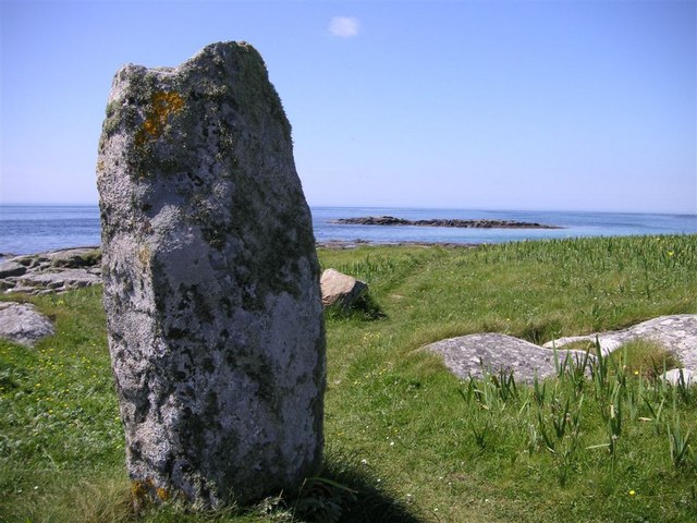 The Pollachar standing stone, South Uist