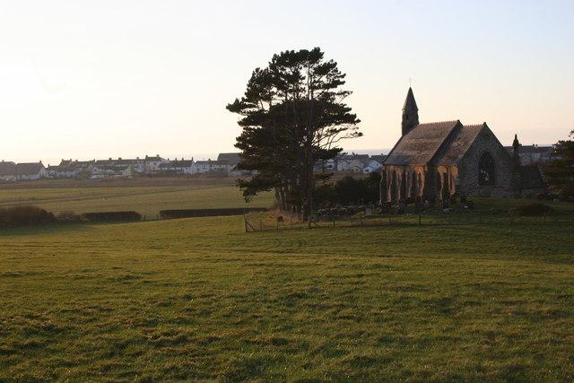 Borth church
