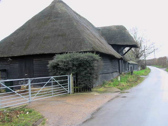 A Tudor Kentish barn