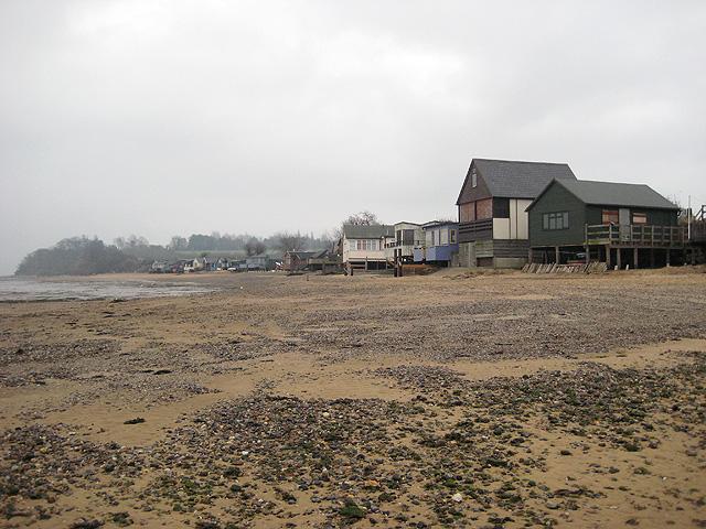 Stilt houses: easterly section