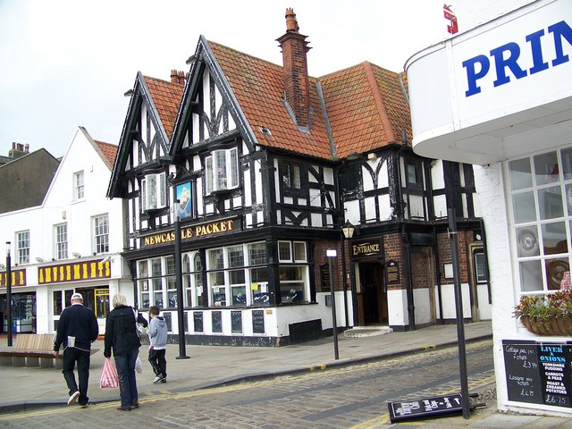 The Newcastle Packet, Sandside, Scarborough