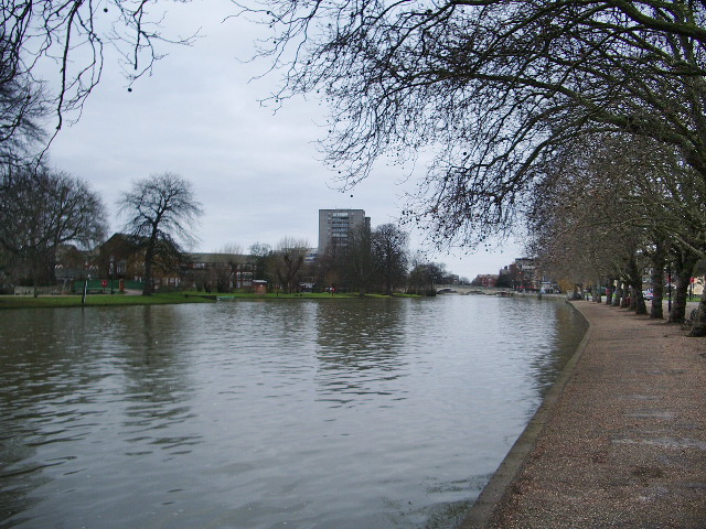 The River Great Ouse, Bedford