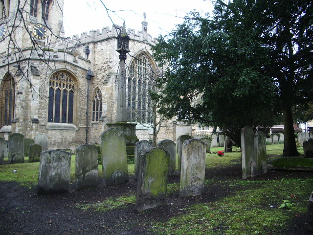The Church of St Paul's, Bedford, Graveyard