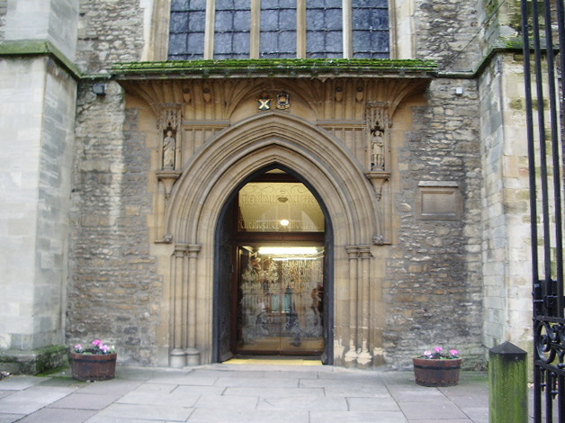 The Church of St Paul's, Bedford, Doorway