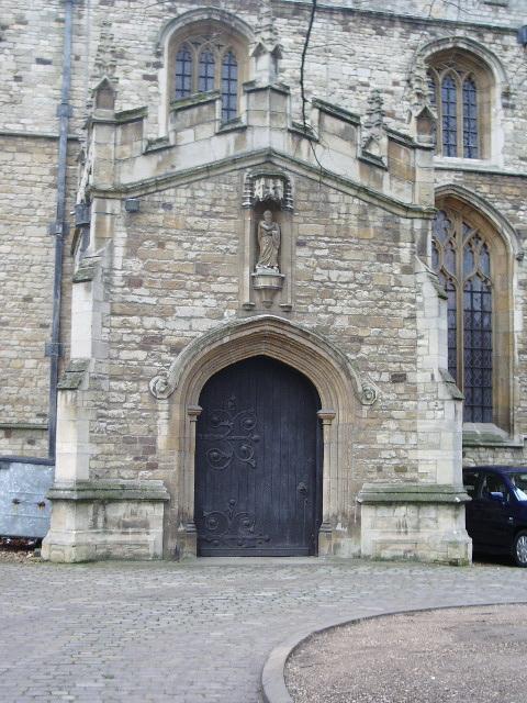 The Church of St Paul's, Bedford, Doorway