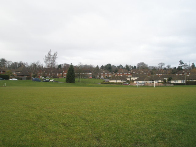 Football pitch at Parson's Green