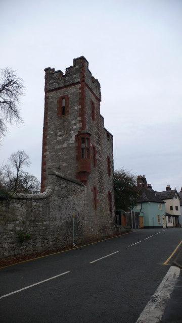 Ruthin Castle Gatehouse