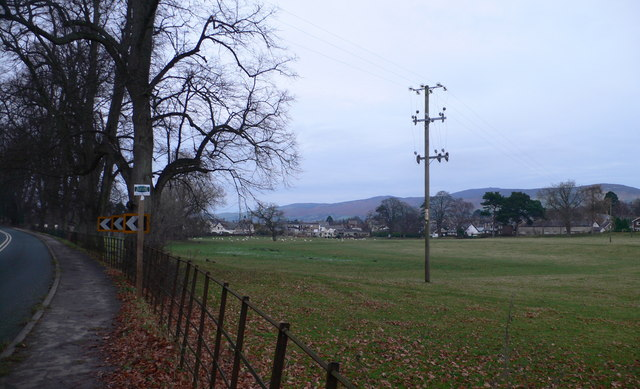 Ruthin from Corwen Road