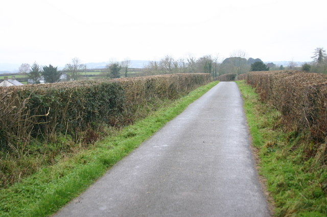 Lane to Garthbrengy