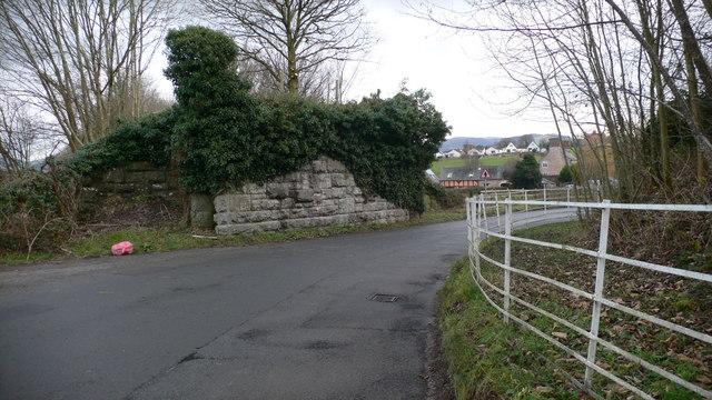 Old railway bridge, Eyarth.