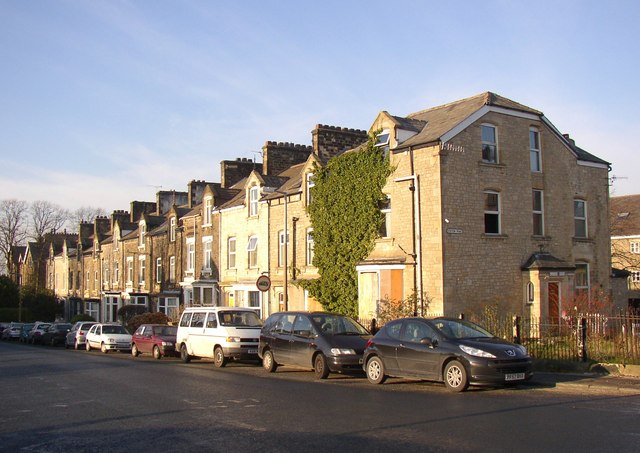 Terrace houses, Westbourne Road, Lancaster