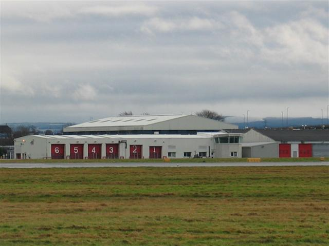 Glasgow Airport Fire Station