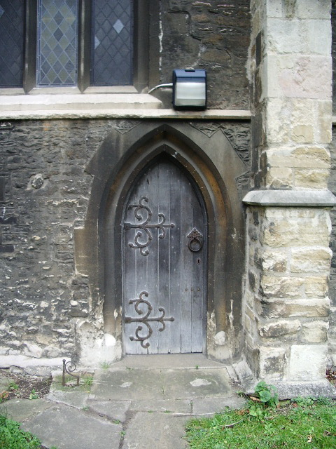 St Mary's Church, Bedford, Doorway