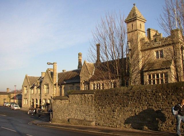 South front of Lancaster Station, Lancaster