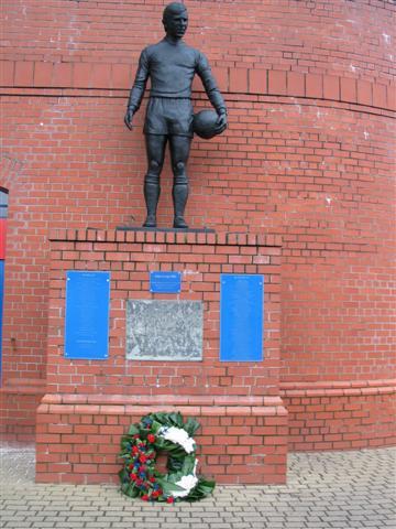 John Greig Statue Ibrox