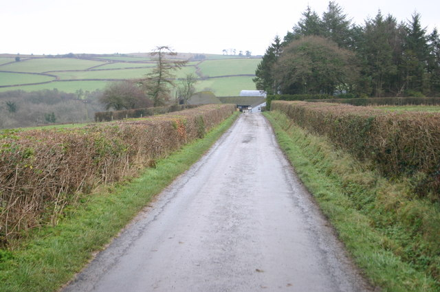 Lane approaching Funglas