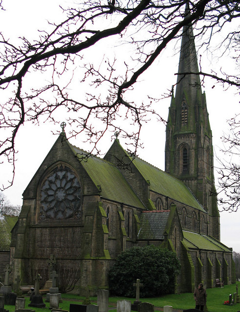 All Saints, Parbold