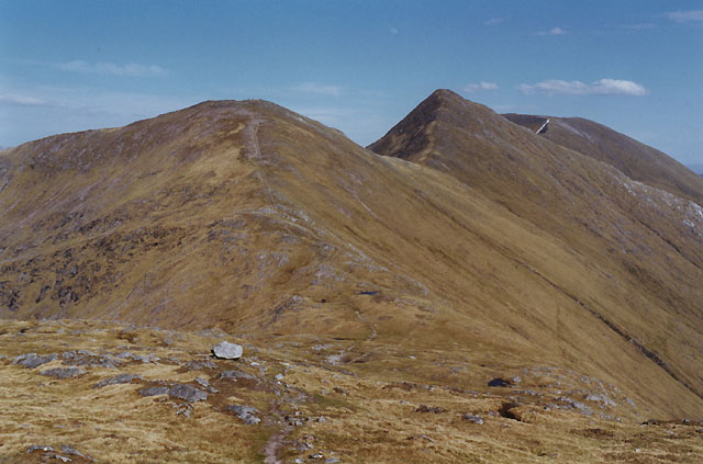 View east from Creag na Damh