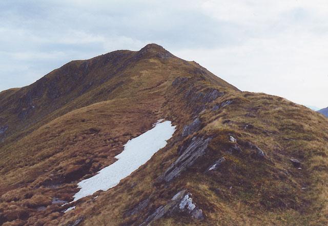The northeast ridge of Sgurr Beag