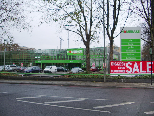 Homebase Superstore, Battersea
