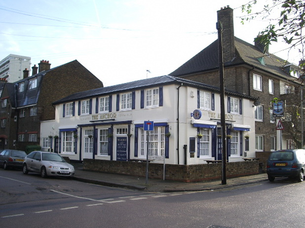 The Anchor, Holgate Street, Battersea