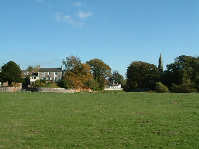 Rockcliffe church and houses