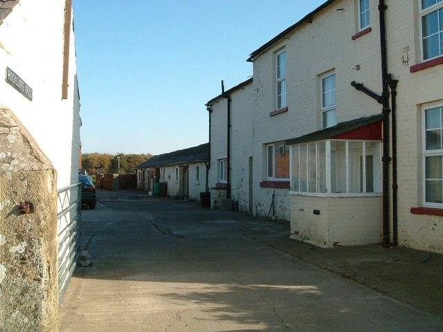 Rockcliffe Cross, Cumbria , farm buildings.