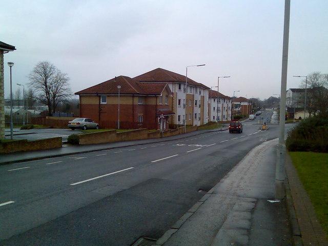 New housing of Queen Elizabeth Court, Clydebank