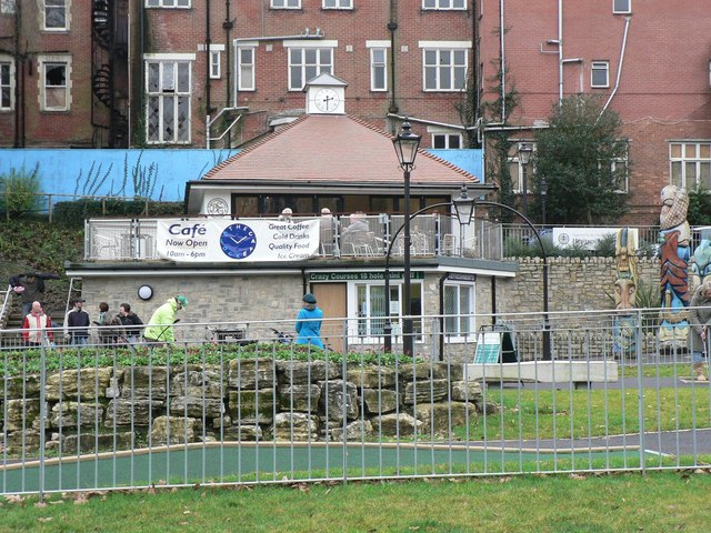 Boscombe Chine Gardens: The Clock Café