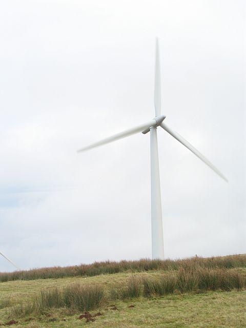 A Black Hill turbine